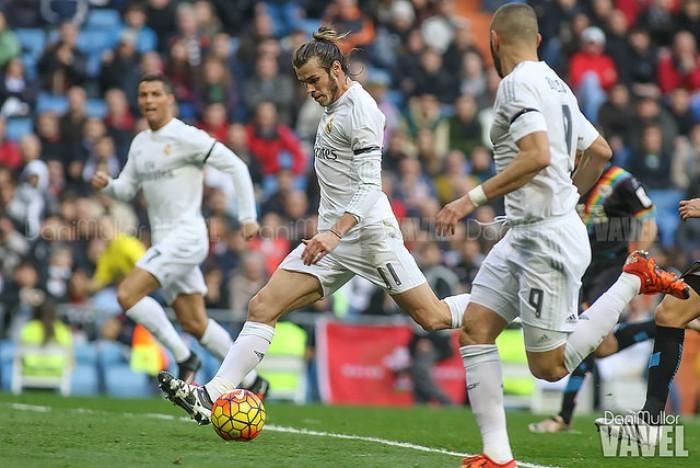 Bale vuelve a entrenar sobre el césped tras seis semanas
