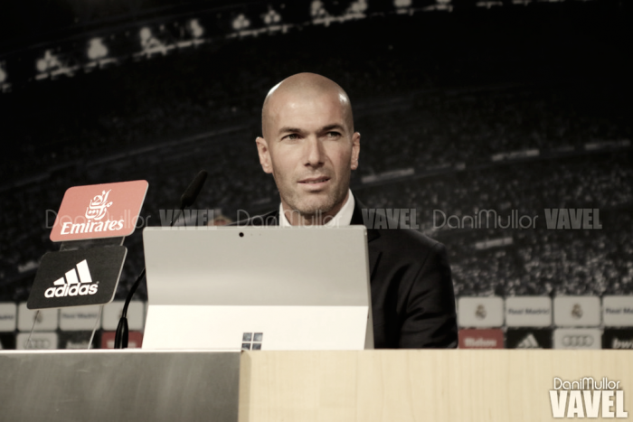 """Zidane: """"Cada uno puede opinar lo que quiera"""""""