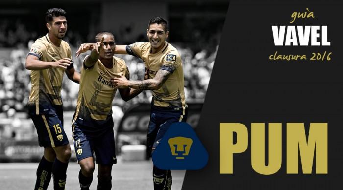 Posicion De La Tabla Pumas 2016 | Calendar Template 2016