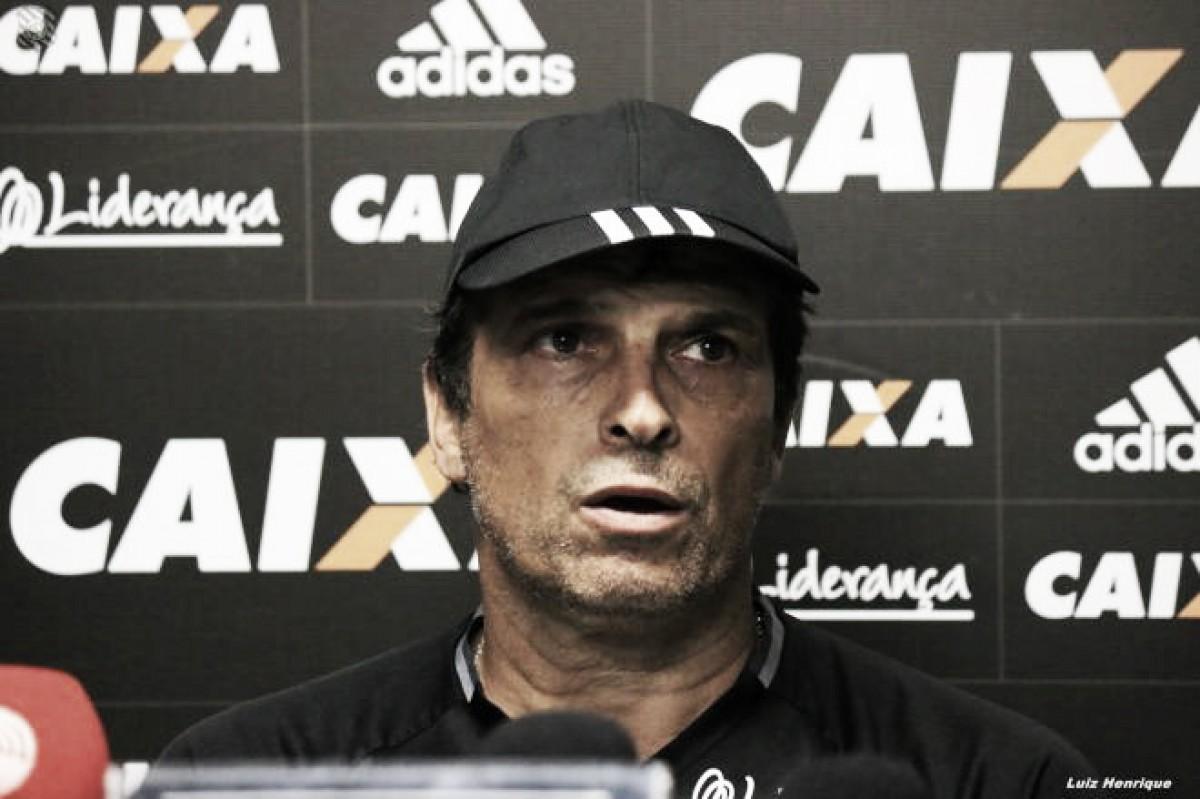 Milton Cruz valoriza vantagem de seis pontos do Figueirense: 'É uma gordura boa'