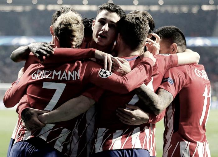 Atlético de Madrid - AS Roma, puntuaciones del Atlético, jornada 5 de la UEFA Champions League