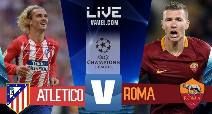 Atletico Madrid-Roma in diretta, Champions League 2017/18 LIVE (2-0): spagnoli ancora in corsa!