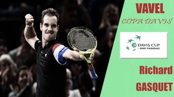 Copa Davis 2017. Richard Gasquet: un as bajo la manga
