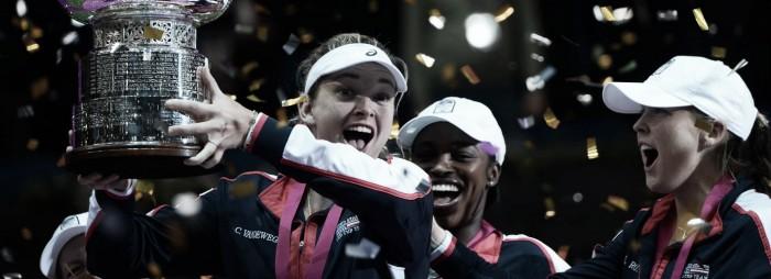 Após 17 anos, Estados Unidos volta a vencer a Fed Cup e conquista seu 18º título sobre a Bielorrússia