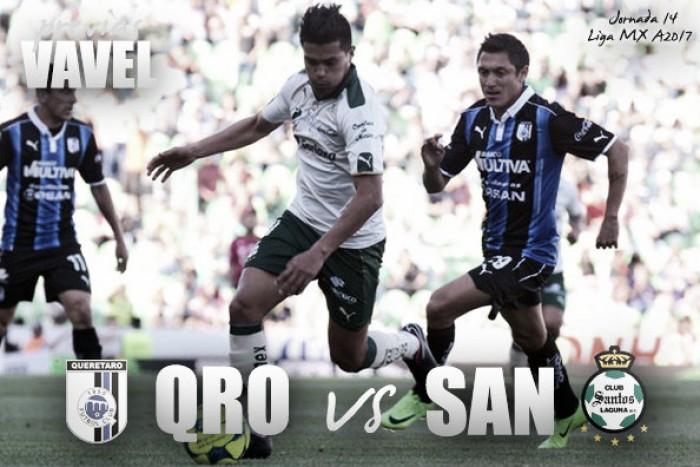 Previa Querétaro - Santos: Duelo de necesitados de puntos