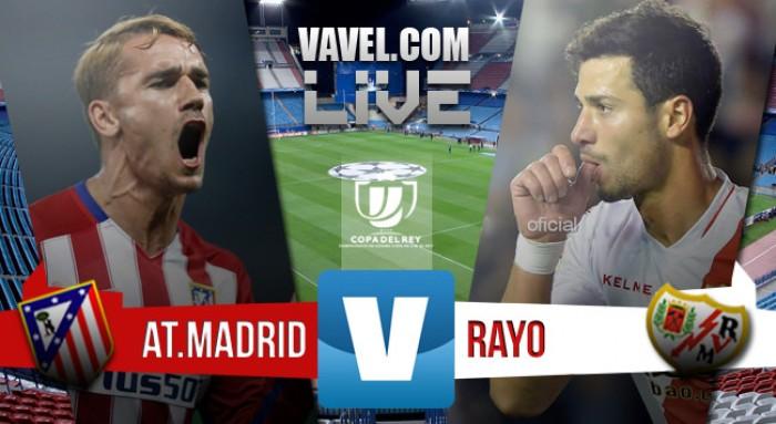 Resultado Atleti 3-0 Rayo en Copa 2015