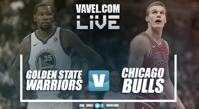 Resumen Golden State Warriors 143-94 Chicago Bulls