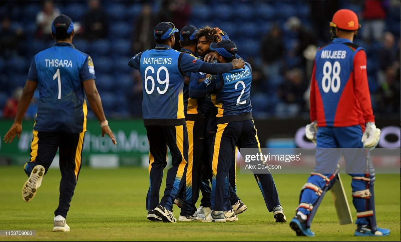 2019 Cricket World Cup: Sri Lanka overcome Afghanistan in tight affair