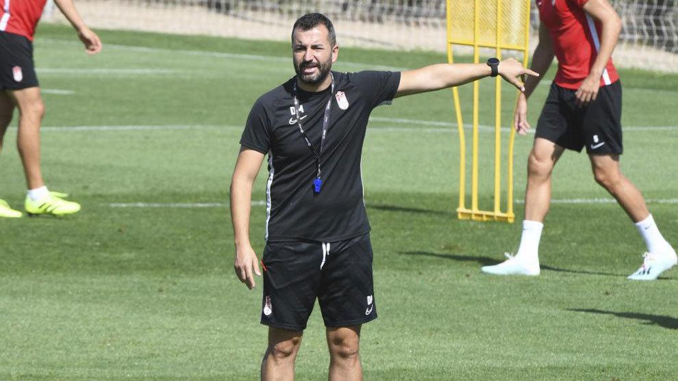 """Diego Martínez: """"Estoy muy contento con el staff técnico y con todos los jugadores"""""""