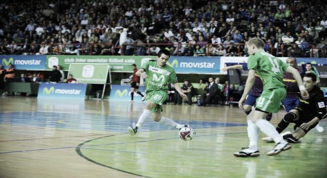 Inter Movistar 2-3 FC Barcelona Alusport: El Barça, de nuevo, a la final