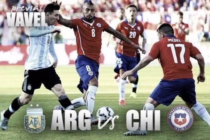 Argentina e Chile se enfrentam na final da Copa América Centenário