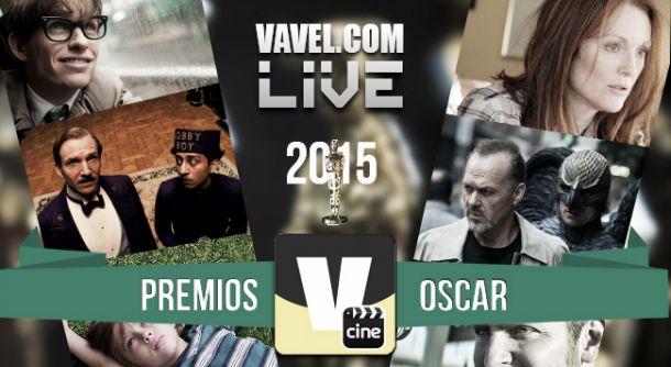 Resultados de los premios Oscar 2015