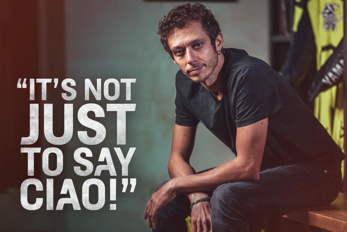 """Valentino Rossi: """"Si decido continuar, será para ser competitivo y luchar por el podio"""""""