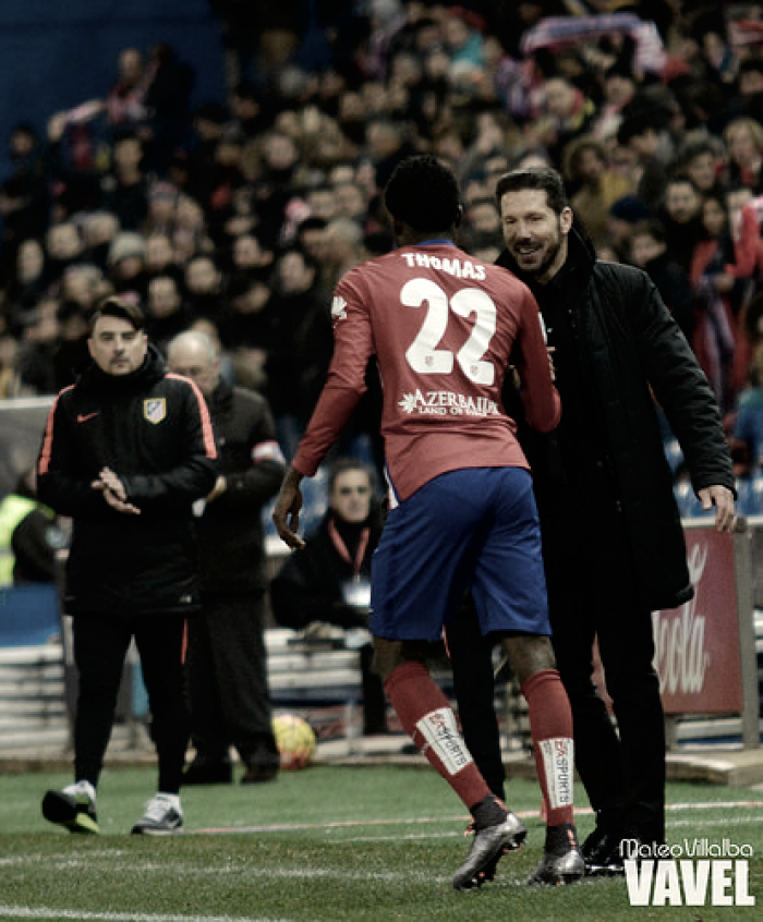 """Simeone: """"Nos espera un rival duro y difícil"""""""