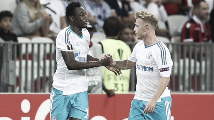 OGC Nice 0-1 Schalke 04: Baba strike gives Die Knappen deserved win