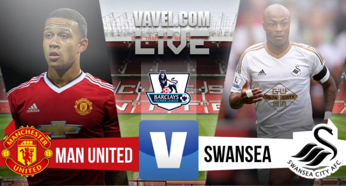 Risultato Manchester United - Swansea, Premier League 2015/16 (2-1): Martial, Sigurdsson, Rooney