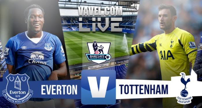 Live Everton - Tottenham (1-1) in Premier League 2015/16