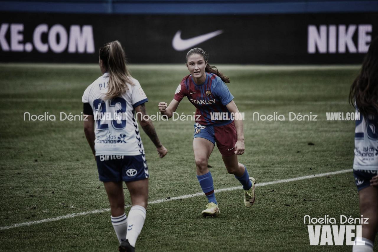 El Barcelona Femení comienza con una manita al Granadilla
