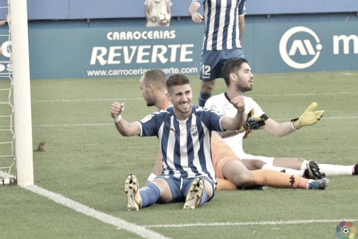 """Dani Ojeda: """"Nos hacía falta ganar fuera, fue un gran triunfo"""""""