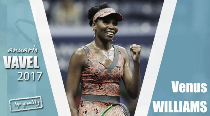 Anuario VAVEL 2017. Venus Williams: el resurgir de una campeona