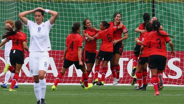La Selección Femenil Sub-20 empató ante Inglaterra