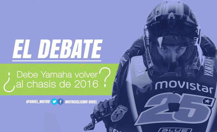 El debate: ¿debe Yamaha volver al chasis de 2016?