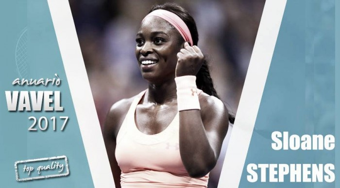 Anuario VAVEL 2017. Sloane Stephens: la 'Mini Serena' vive en una montaña rusa