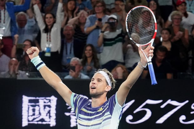 2020 Australian Open: Dominic Thiem upsets Rafael Nadal in four-set quarterfinal classic