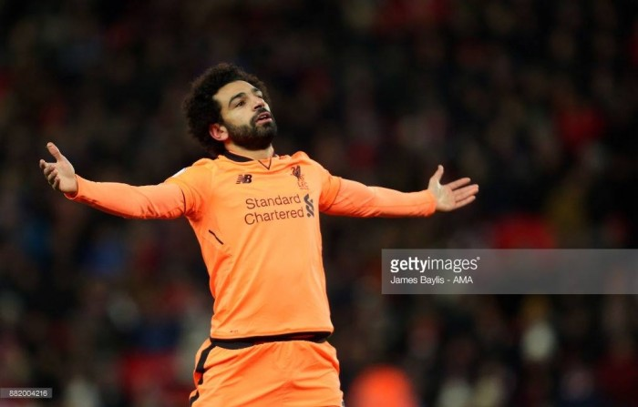 Stoke City 0-3 Liverpool: Salah's brace off the bench lifts Reds to three points at the bet365