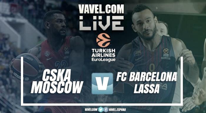 CSKA de Moscú vs Barcelona Lassa en vivo y en directo online en Euroliga 2017