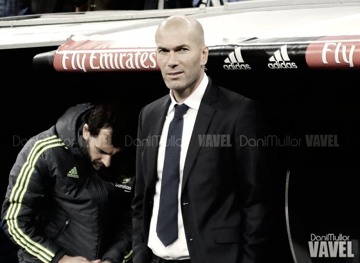 """Zinedine Zidane: """"No me gusta jugar sin público"""""""