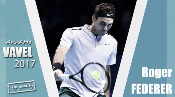 Anuario VAVEL 2017. Roger Federer: viejo rockero nunca muere