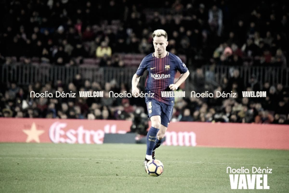 Rakitic siempre recordará un penalti en Vallecas