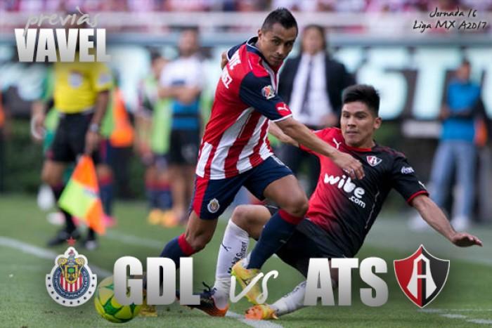 Previa Chivas vs Atlas: El Clásico que vale más de 3 puntos
