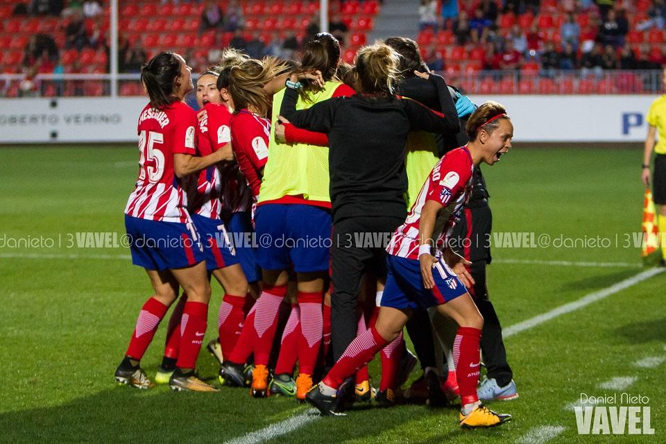 UEFA Women's Champions League: Manchester City 0-2 Atlético Madrid