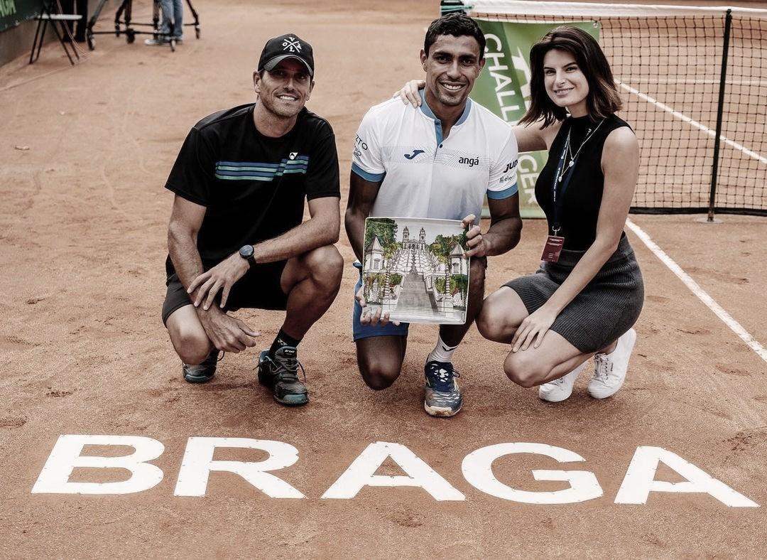 Thiago Monteiro é campeão do Challenger de Braga
