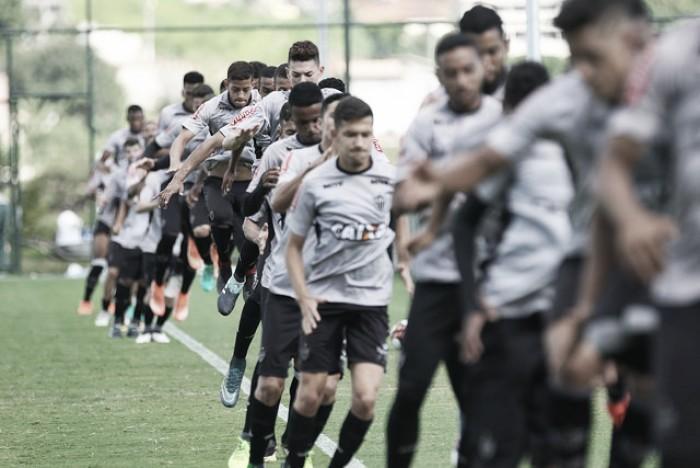 Resultado Atlético-MG x União Barbarense pela Copa São Paulo (4-0)