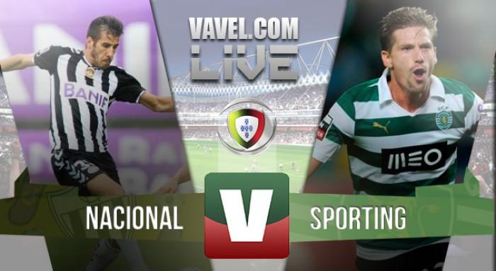 Resultado Nacional 0-4 Sporting na Liga NOS 2015/2016