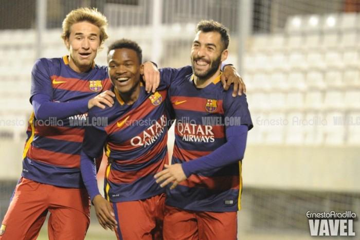 FC Barcelona B – Unió Esportiva Olot: seguir a por más