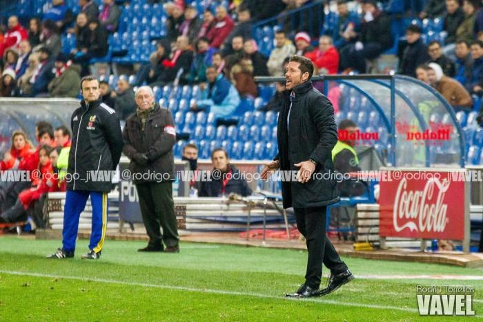 """Simeone: """"La diferencia no es el once inicial, sino los 18 convocados"""""""