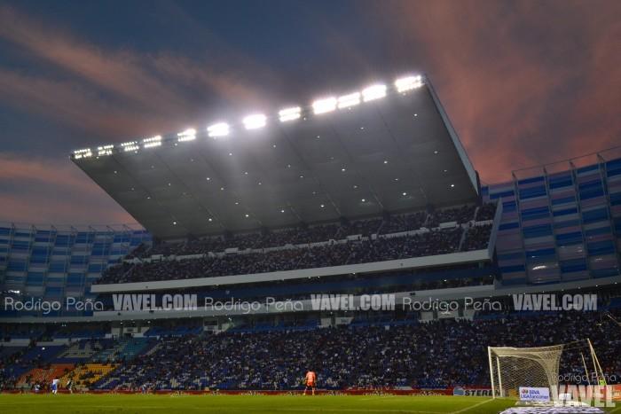 Estadio Cuauhtémoc sin daños
