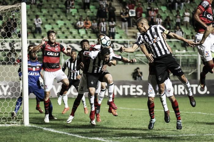 De virada, Atlético-MG vence o xará Goianiense e segue na briga por uma vaga no G-7