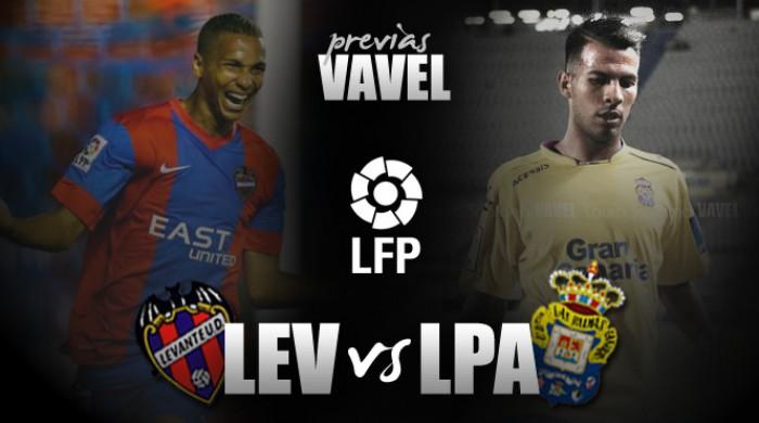 Levante - Las Palmas: otra final en enero