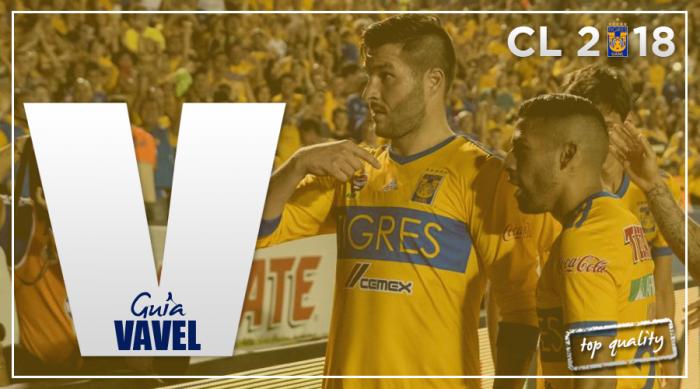 Guía VAVEL Clausura 2018: Tigres UANL