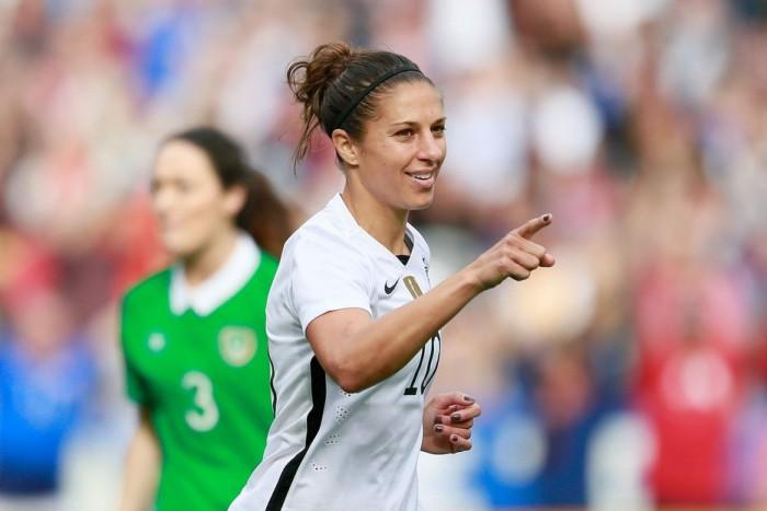 Carli Lloyd, USWNT Dismantle Republic of Ireland 5-0