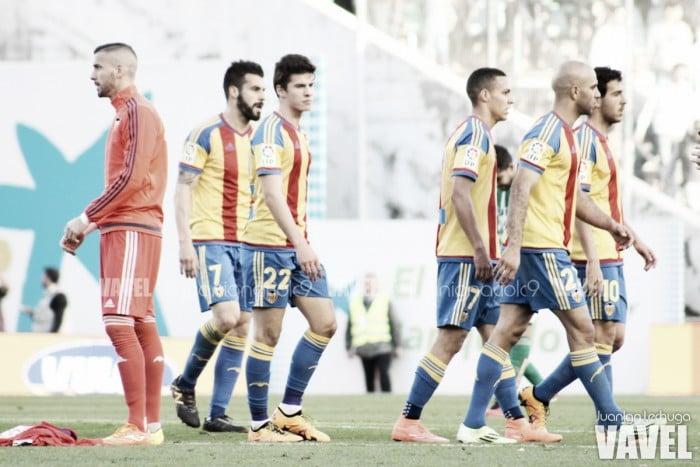 Real Betis - Valencia: puntuaciones del Valencia, jornada 23