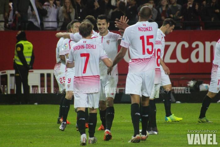 Sevilla FC - CD Mirandés: puntuaciones del Sevilla en la ida de los cuartos de la Copa del Rey