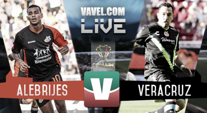 Resultado Alebrijes - Veracruz en Copa MX 2016 (2-3)