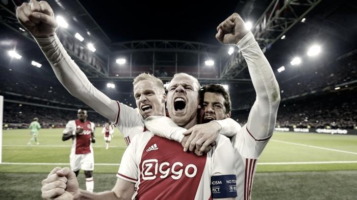 Un paso al frente del Ajax
