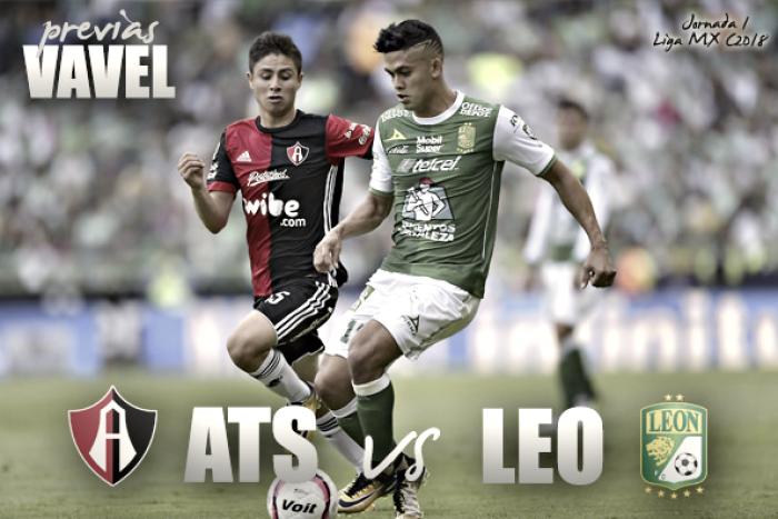 Atlas vs León, Torneo de Clausura 2018 — Transmisión en vivo